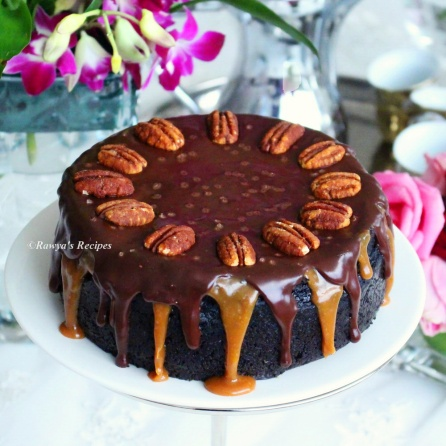chocolate caramel cheesecake055
