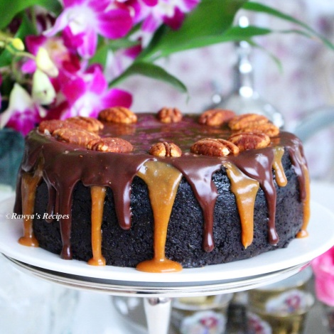 chocolate caramel cheesecake066