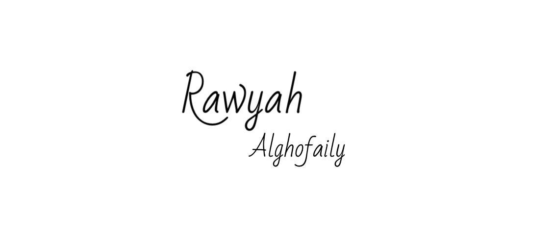 Rawyah Alghofaily